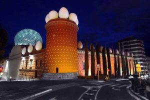 Spain-Figueres-Dali-Museum-Front-Night-L